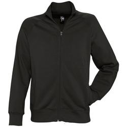 Textiel Heren Sweaters / Sweatshirts Sols SUNDAE MEN SPORT Negro