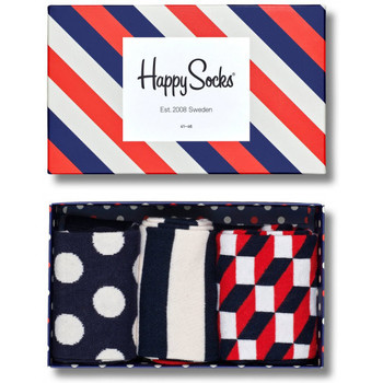 Accessoires Heren Sokken Happy Socks Stripe gift box Multicolour