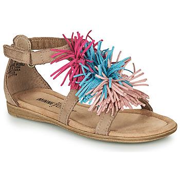 Schoenen Meisjes Sandalen / Open schoenen Minnetonka ELOISE Taupe