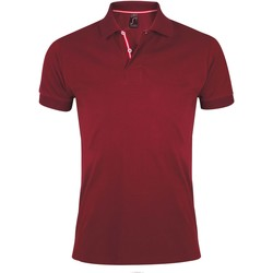 Textiel Heren Polo's korte mouwen Sols PATRIOT FASHION MEN Violeta