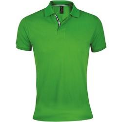 Textiel Heren Polo's korte mouwen Sols PATRIOT FASHION MEN Verde