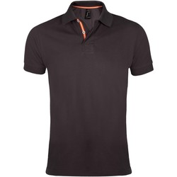 Textiel Heren Polo's korte mouwen Sols PATRIOT FASHION MEN Gris