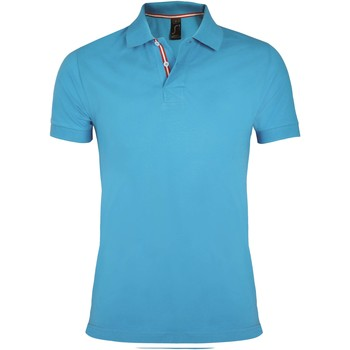 Textiel Heren Polo's korte mouwen Sols PATRIOT FASHION MEN Azul