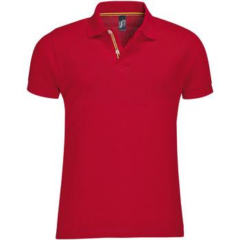Textiel Heren Polo's korte mouwen Sols PATRIOT FASHION MEN Rojo