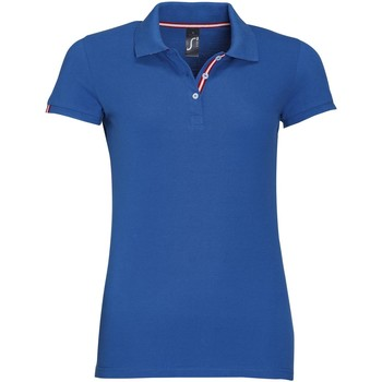 Textiel Dames Polo's korte mouwen Sols PATRIOT FASHION WOMEN Azul