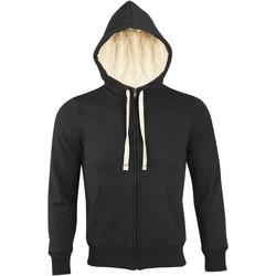 Textiel Heren Sweaters / Sweatshirts Sols SHERPA WINTER MEN Negro