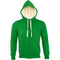 Textiel Heren Sweaters / Sweatshirts Sols SHERPA WINTER MEN Verde