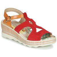 Schoenen Dames Sandalen / Open schoenen Dorking YAP Rood
