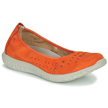 Schoenen Dames Ballerina's Dorking SILVER Oranje