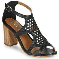 Schoenen Dames Sandalen / Open schoenen Ravel COREEN Zwart