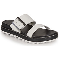 Schoenen Dames Sandalen / Open schoenen Sorel ROAMING BUCKLE SLIDE Wit