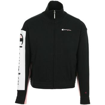 Textiel Dames Trainings jassen Champion Full Zip Sweatshirt Wn's Zwart