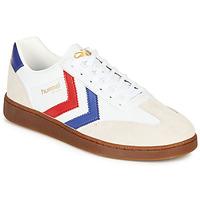 Schoenen Heren Lage sneakers Hummel VM78 CPH LEATHER Wit / Rood / Blauw