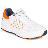 Schoenen Heren Lage sneakers Hummel 3-S SPORT Wit / Oranje
