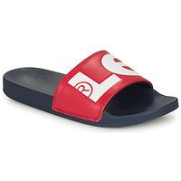 Schoenen Heren slippers Levi's JUNE L Blauw / Rood
