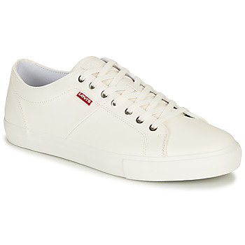 Schoenen Heren Lage sneakers Levi's WOODWARD Wit