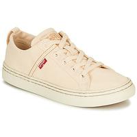 Schoenen Dames Lage sneakers Levi's SHERWOOD S LOW Beige