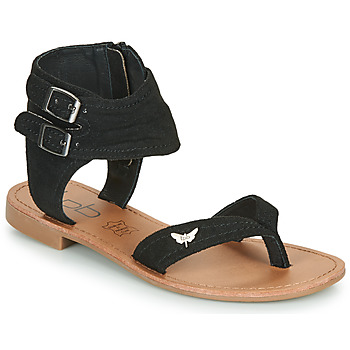 Schoenen Dames Sandalen / Open schoenen Les Petites Bombes VALENTINE Zwart
