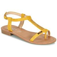 Schoenen Dames Sandalen / Open schoenen Les Petites Bombes EMILIE Mosterd