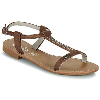 Schoenen Dames Sandalen / Open schoenen Les Petites Bombes EMILIE Camel