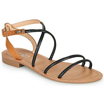 Schoenen Dames Sandalen / Open schoenen Les Petites Bombes EDEN Zwart