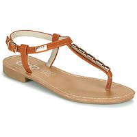 Schoenen Dames Sandalen / Open schoenen Les Petites Bombes MANEL Camel
