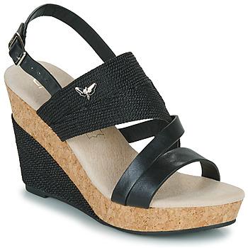 Schoenen Dames Sandalen / Open schoenen Les Petites Bombes MELINE Zwart