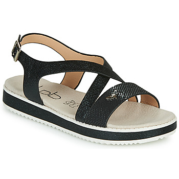 Schoenen Dames Sandalen / Open schoenen Les Petites Bombes MARIA Zwart