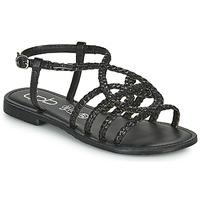 Schoenen Dames Sandalen / Open schoenen Les Petites Bombes ARIA Zwart