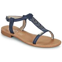Schoenen Dames Sandalen / Open schoenen Les Petites Bombes EMILIE Marine