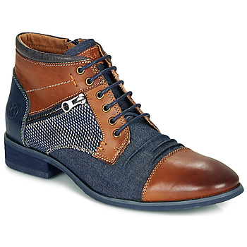 Schoenen Heren Laarzen Kdopa BILLY Bruin / Blauw