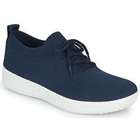 Schoenen Dames Sandalen / Open schoenen FitFlop F-SPORTY UBERKNIT SNEAKERS Blauw