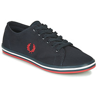 Schoenen Heren Lage sneakers Fred Perry KINGSTON TWILL Blauw