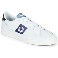 Schoenen Heren Lage sneakers Fred Perry B8198 LEATHER / WHITE / NAVY Wit