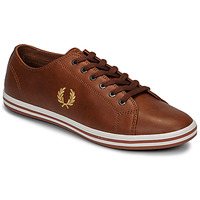 Schoenen Heren Lage sneakers Fred Perry KINGSTON LEATHER Bruin