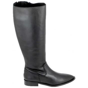 Schoenen Laarzen Porronet Botte Bost Noir Zwart