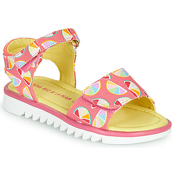 Schoenen Meisjes Sandalen / Open schoenen Agatha Ruiz de la Prada SMILES Roze / Multi