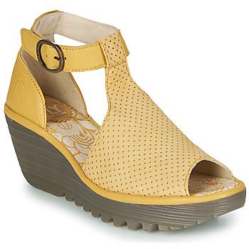 Schoenen Dames Sandalen / Open schoenen Fly London YALLS Geel
