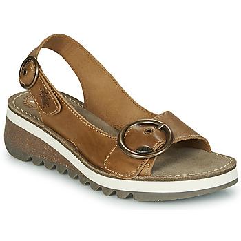 Schoenen Dames Sandalen / Open schoenen Fly London TRAM2 FLY Camel