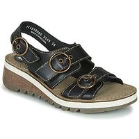 Schoenen Dames Sandalen / Open schoenen Fly London TEAR2 FLY Zwart