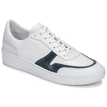 Schoenen Heren Lage sneakers Schmoove EVOC-SNEAKER Wit / Blauw