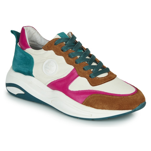 Schoenen Dames Lage sneakers Pataugas FRIDA Wit / Multi