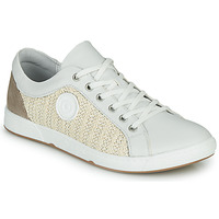 Schoenen Dames Lage sneakers Pataugas JOHANA Ecru / Geel