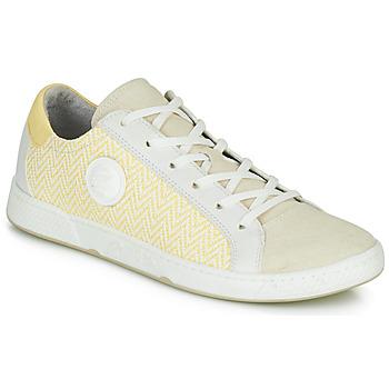 Schoenen Dames Lage sneakers Pataugas JUNE/N Creme / Geel