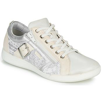 Schoenen Dames Lage sneakers Pataugas PAULINE/S Wit / Zilver