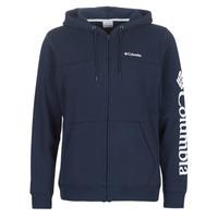 Textiel Heren Sweaters / Sweatshirts Columbia Columbia Logo Fleece Full zip  collegiate / Marine