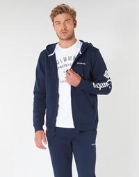 Textiel Heren Sweaters / Sweatshirts Columbia COLUMBIA LOGO FLEECE FULL ZIP Blauw