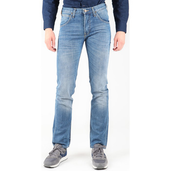 Textiel Heren Straight jeans Lee Zed L717CRBP blue