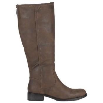 Schoenen Dames Hoge laarzen Chattawak Botte 8-Melina Choco Bruin