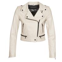 Textiel Dames Leren jas / kunstleren jas Oakwood YOKO Ivory